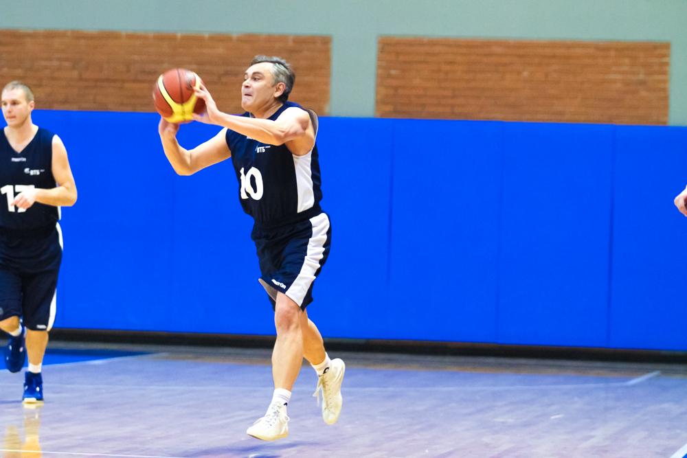 Игра. Промо-кубок Корпоративной Лиги по баскетболу