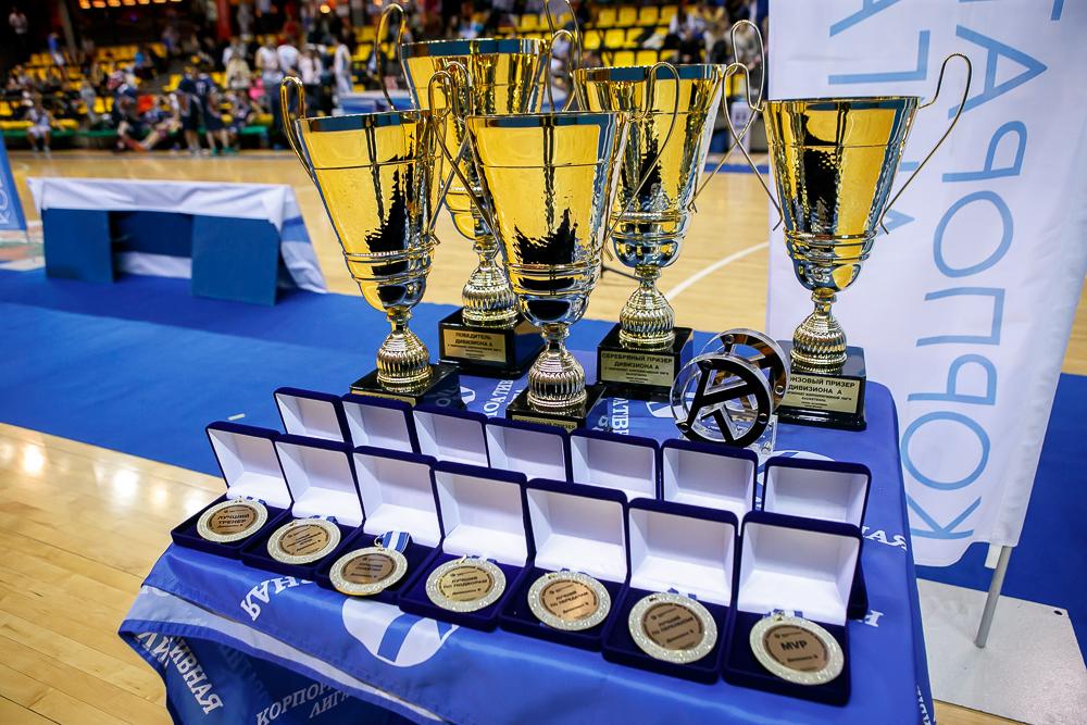 Награждение. Чемпионат КЛБ - 2016 (осень)
