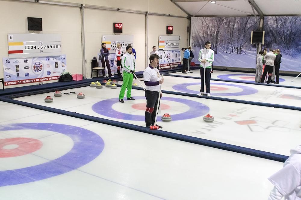 I Чемпионат Корпоративной Лиги по кёрлингу - 3 тур