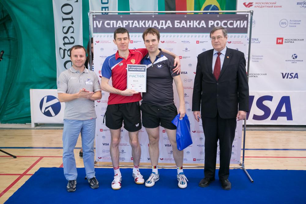Награждение IV Кубка Центрального Банка России